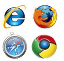 Supported Browsers: IE, Firefox, Safari